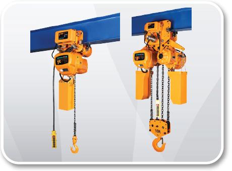 Electric Chain Hoist 1 - 10 Ton