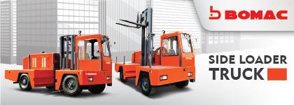 Bomac Side Loader Truck