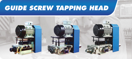Guide Screw tapping head
