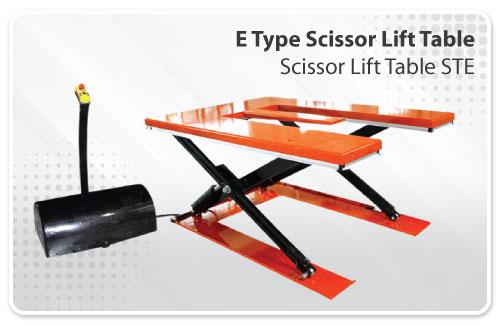 E Type Scissor Lift Table