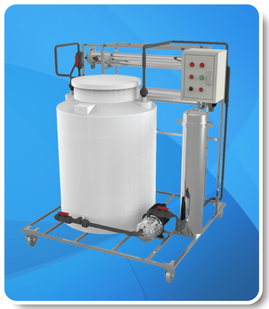 RO Membrane Cleaning Machine