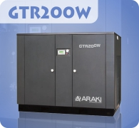 Araki Screw Compressor GTR200W