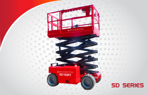 Self-Propelled Rough Terrain Scissor Lift