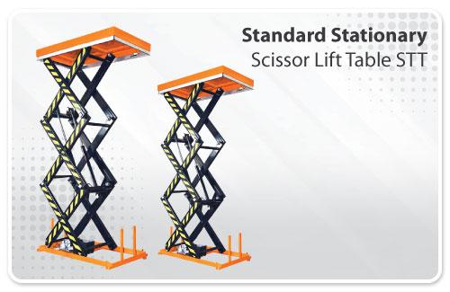 Standard Stationary Scissor Lift Table STT