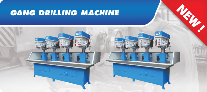 Gang Drilling Machine