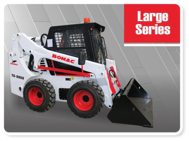 Large Sized Skid Steer Loader Series