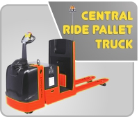 Central Ride Pallet Truck