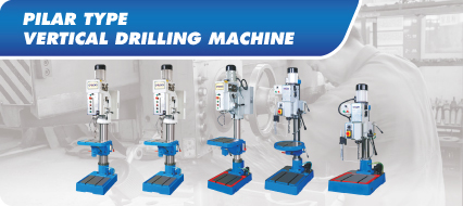 Pilar Type Vertical Drilling Machine