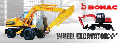 Bomac Wheel Excavator