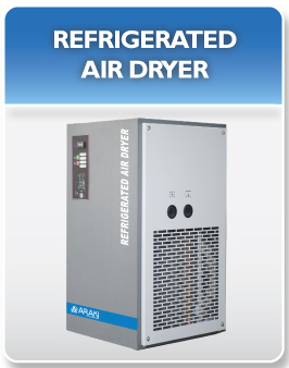 New Araki Refrigerated Air Dryer