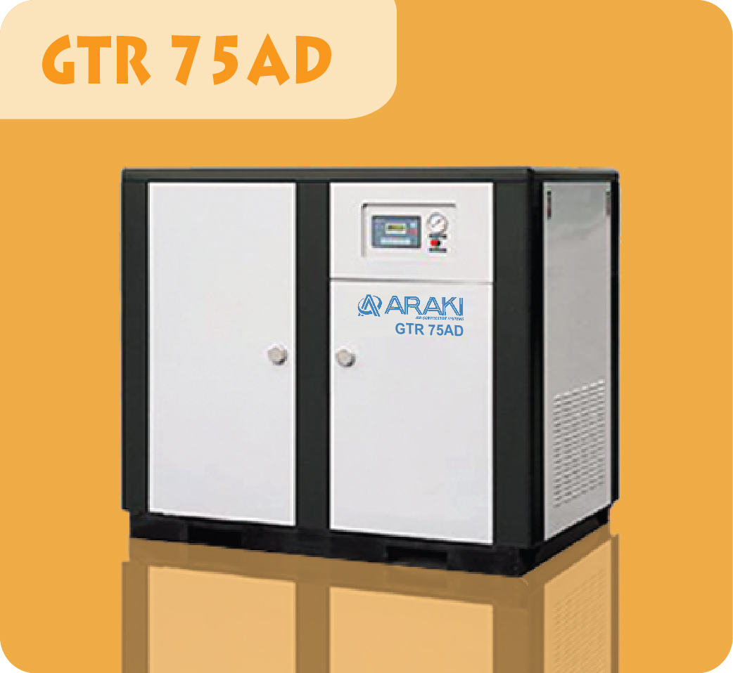 Araki Screw Compressor GTR-75AD