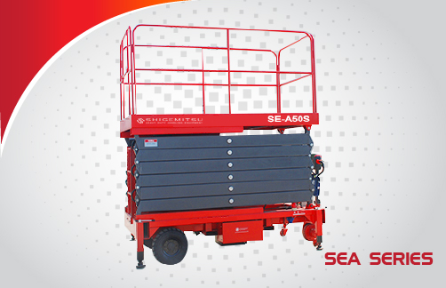 Auxiliary Drive Scissor Lift