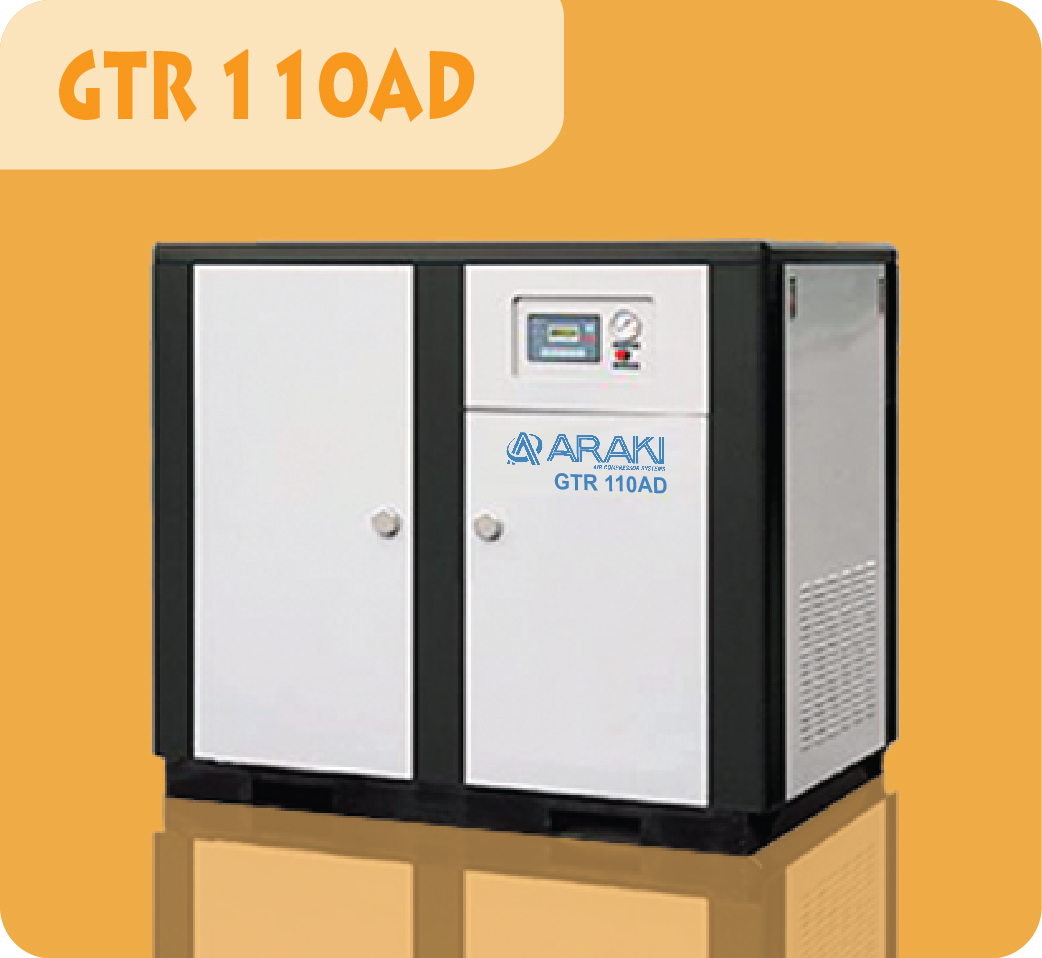 Araki Screw Compressor GTR-110AD