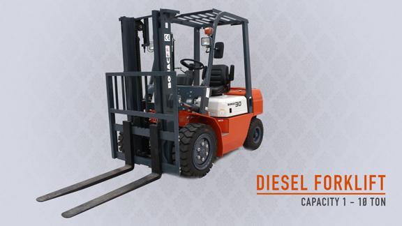 Bomac Forklift Diesel