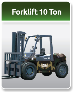 Bomac Forklift Military 10 Ton
