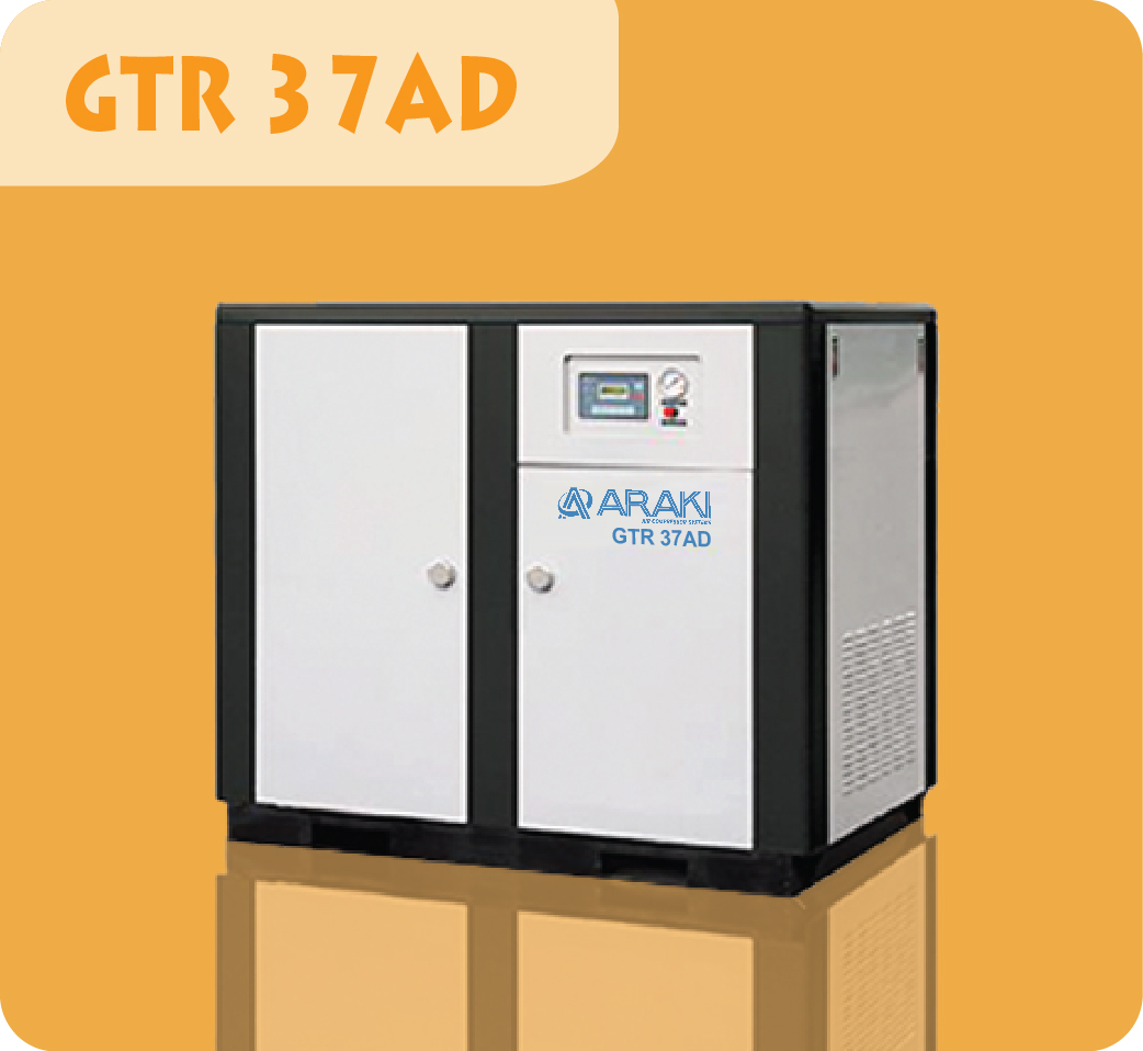 Araki Screw Compressor GTR-37AD
