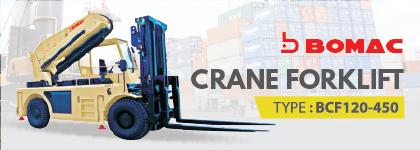 Bomac Crane Forklift