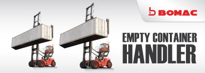 Bomac Empty Container Handler