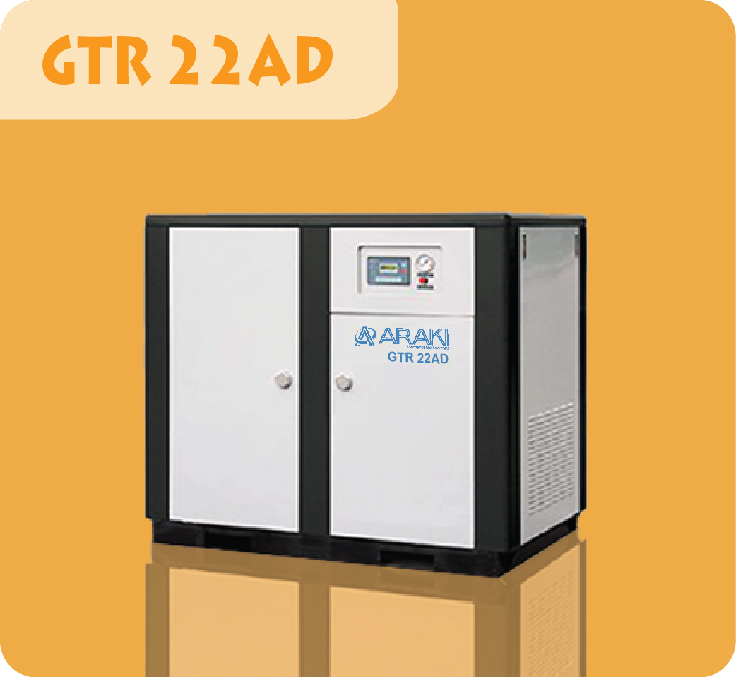Araki Screw Compressor GTR-22AD