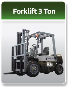 Bomac Forklift Military 3 Ton
