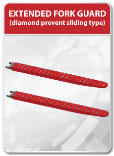 Extended Fork Guard (Diamond Prevent Sliding Type)