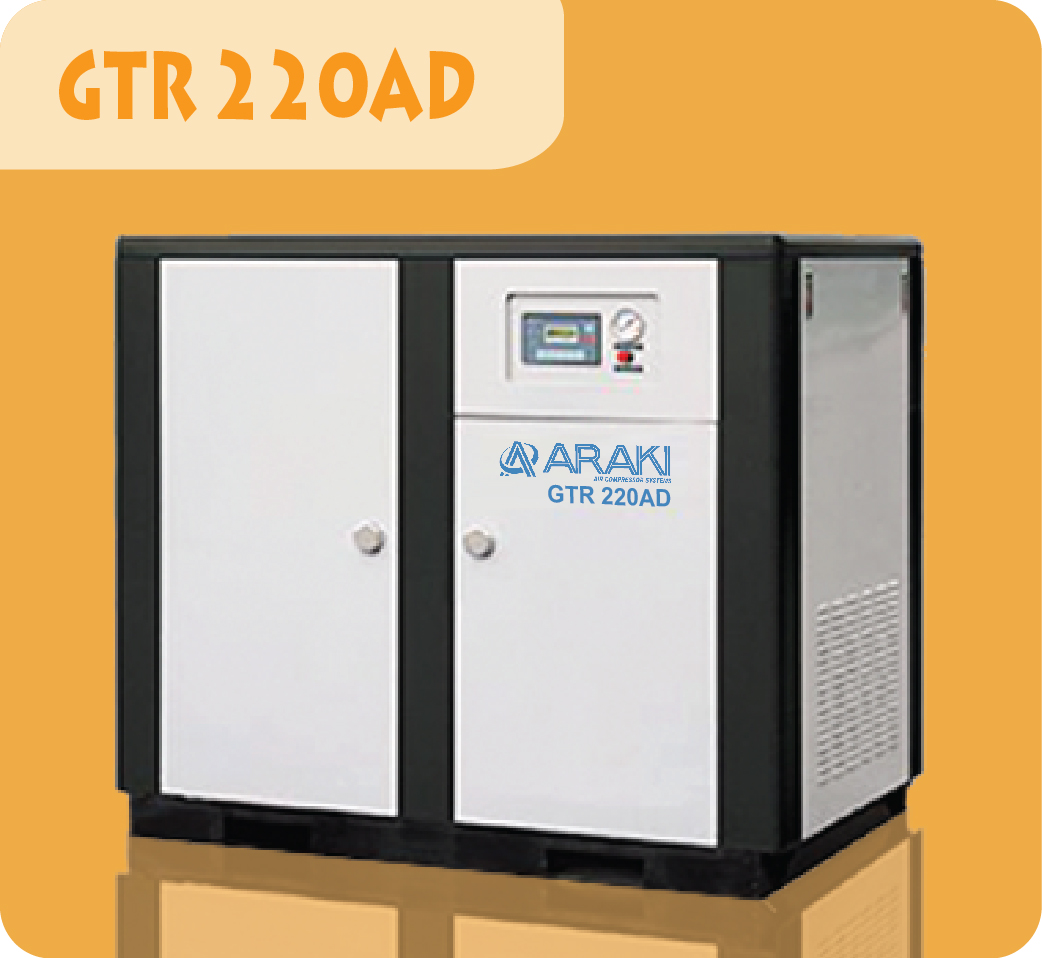 Araki Screw Compressor GTR-220AD