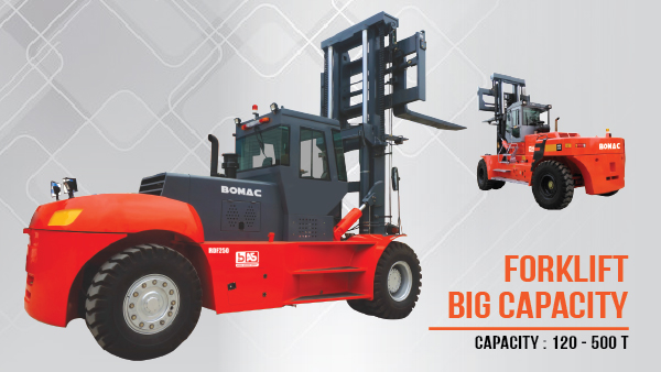 Bomac Forklift Big Capacity