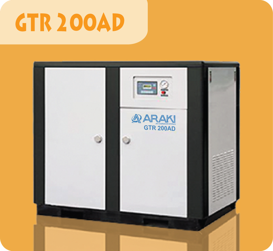 Araki Screw Compressor GTR-200AD