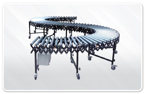 Flexible Powered Roller Conveyor