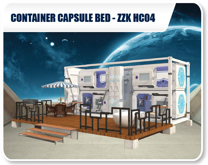 Container Capsule Bed SSK HC04