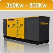 Jual Genset Iwata 360 - 800Kw