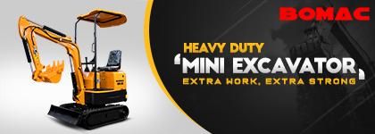 Bomac Mini Excavator