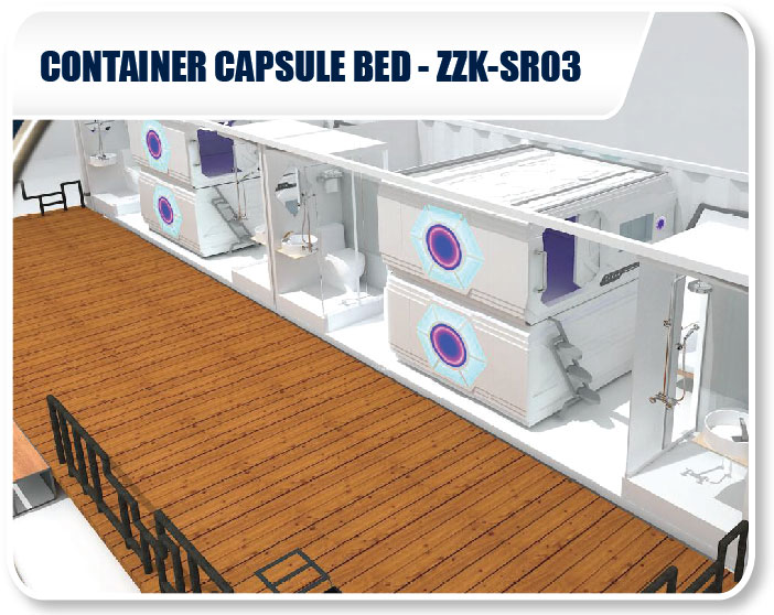 Container Capsule Bed SSK-SR03