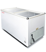 Sliding Flat Glass Deep Freezer