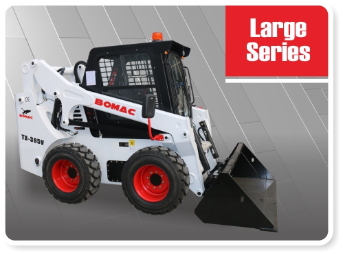 Large Sized Skid Steer Loader Series