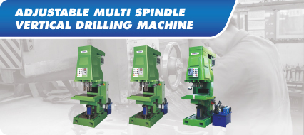 Adjustable Multi Spindle Vertical Drilling Machine