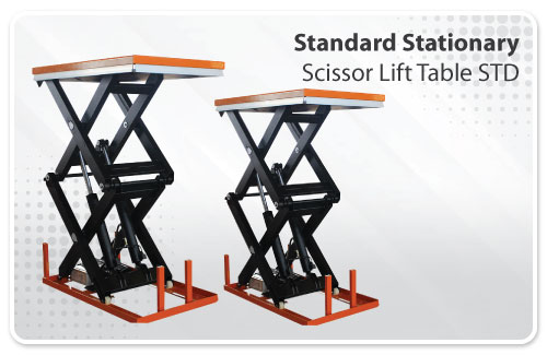 Standard Stationary Scissor Lift Table STD