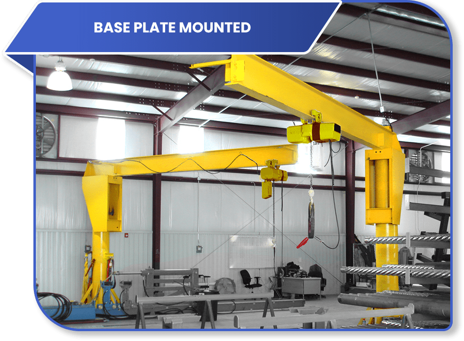 100 Series Base Plate Mounted
