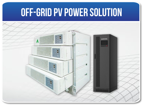 Off-grid PV Power Solution