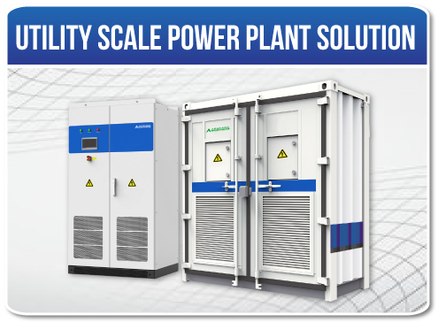 Utility Scale Power Plant Solution