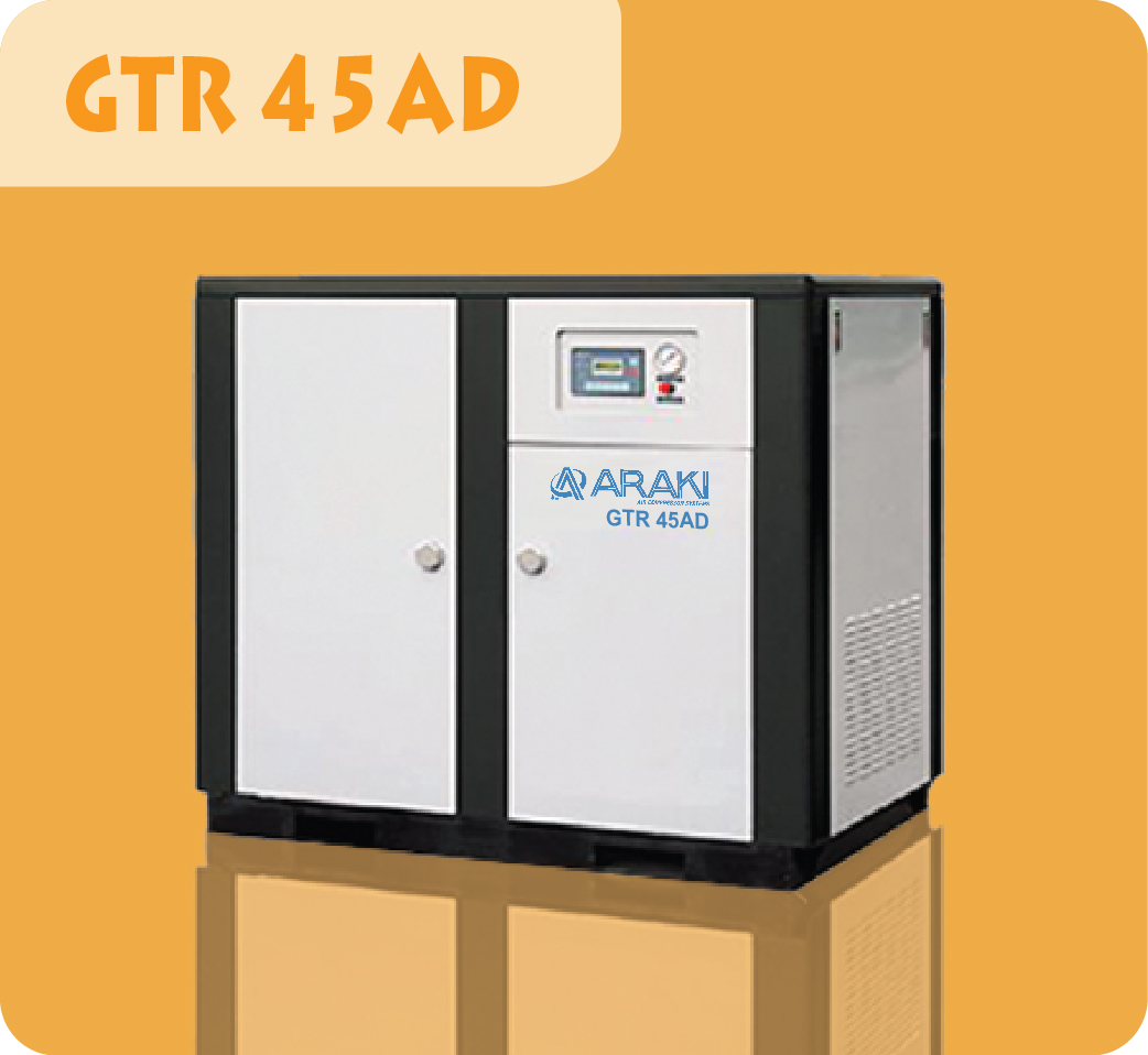 Araki Screw Compressor GTR-45AD