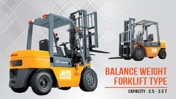 Bomac Balance Weight Forklift