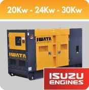 Jual Genset Iwata Silent Generator - Engine Isuzu