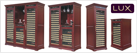 Solid Wood Wine Storage