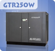 Araki Screw Compressor GTR250W