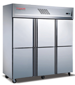 Full Stainless Steel Kitchen Refrigerator
