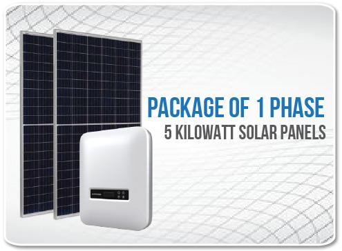 Solar Panel Package 1 Phase 5 Kilowatt