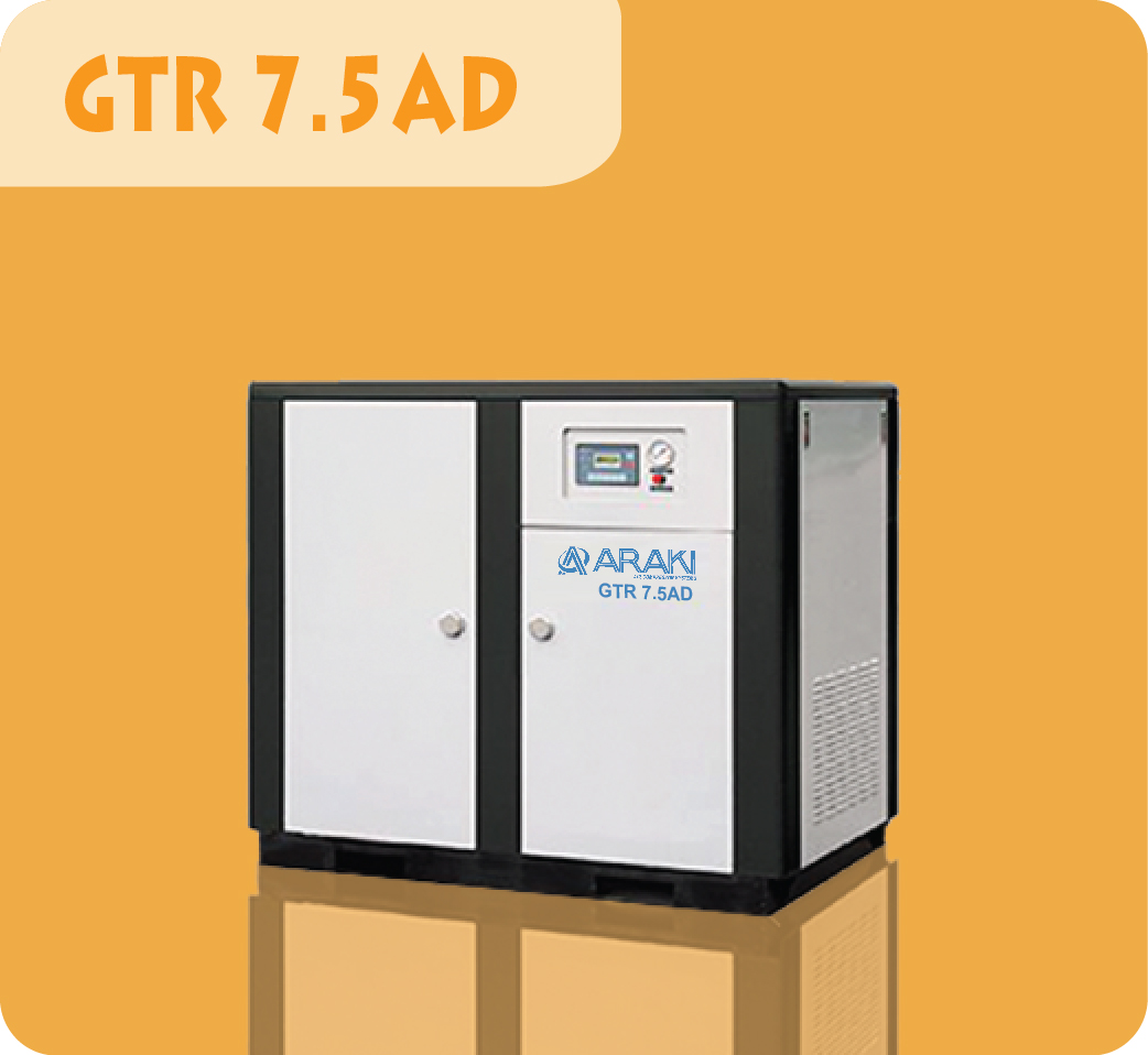 Araki Screw Compressor GTR-7.5AD