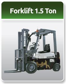 Bomac Forklift Military 1.5 Ton