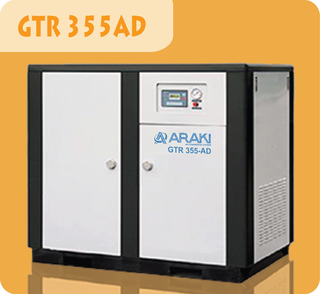 Araki Screw Compressor GTR 355AD